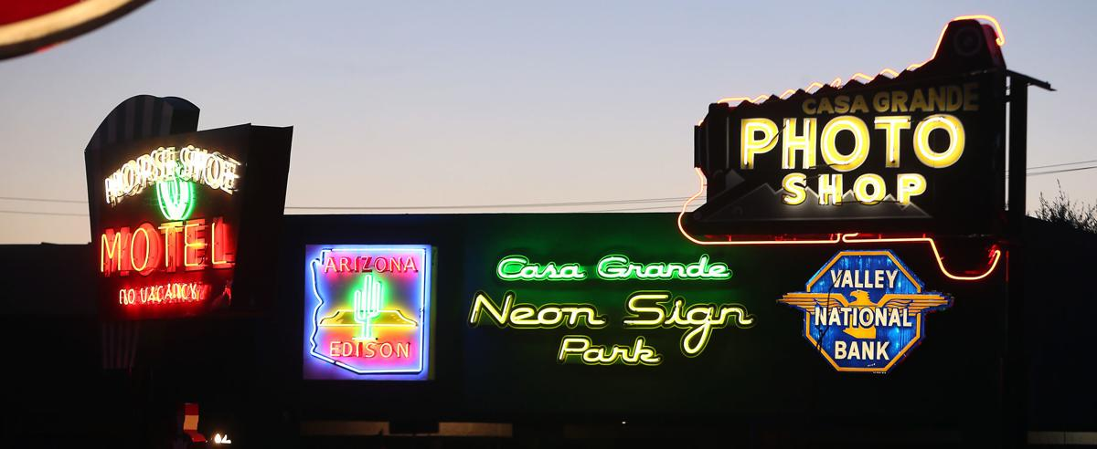 Let there be light: New neon sign park now illuminates downtown